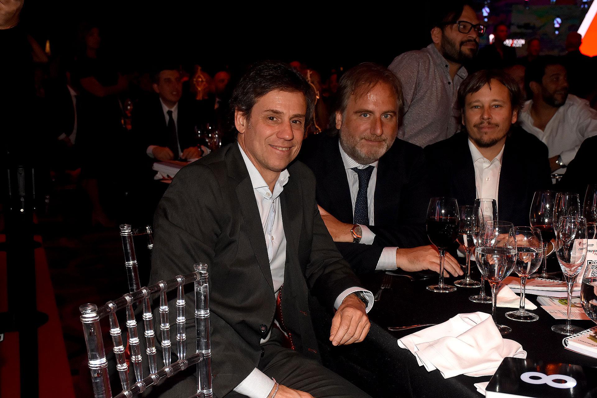 Santiago Poblet Videla, Tato Lanusse y Facundo Fravega