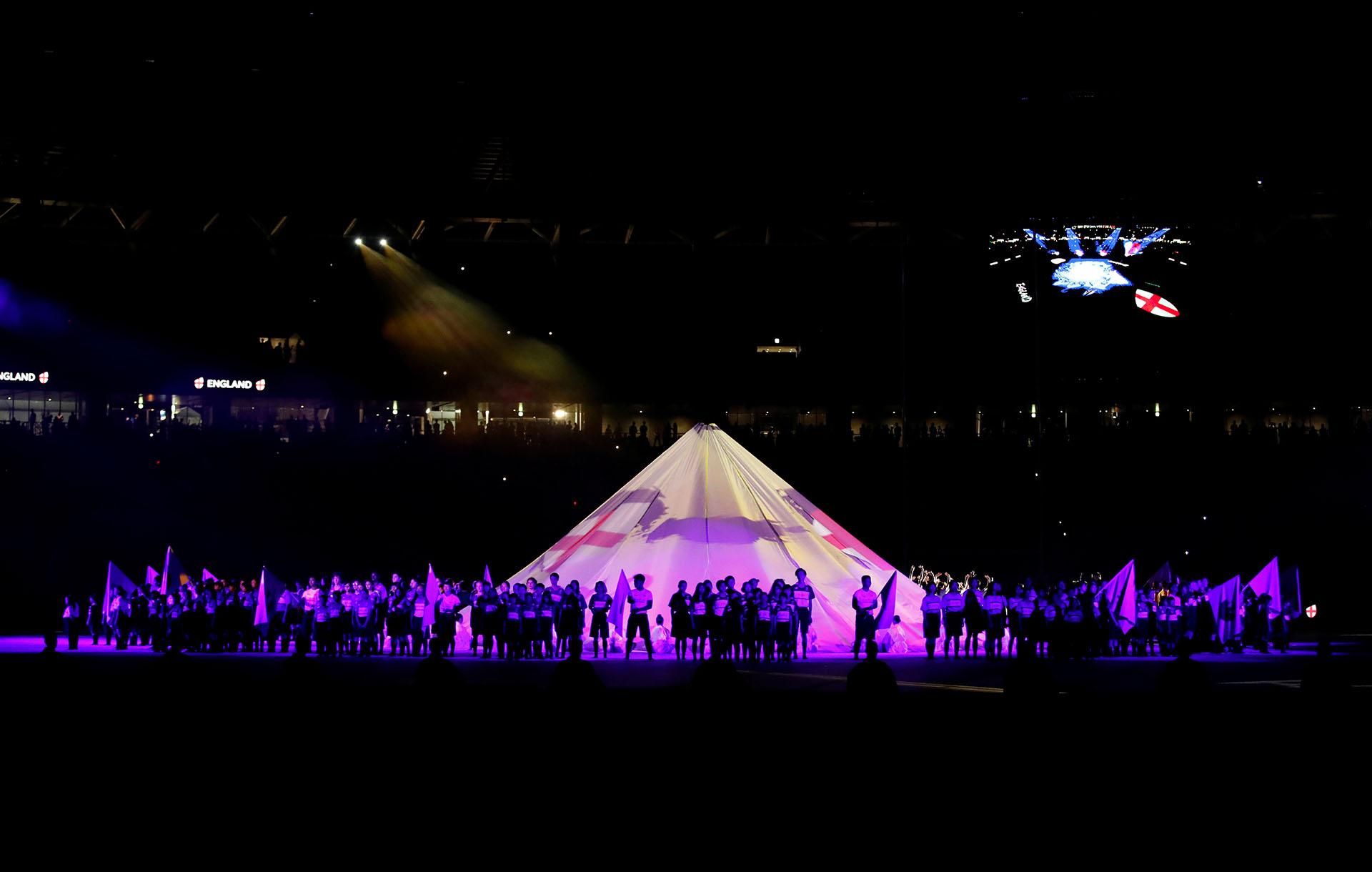 Con el Monte Fuji como ícono se presentó a las selecciones que participarán de la Copa del Mundo (REUTERS/Matthew Childs)