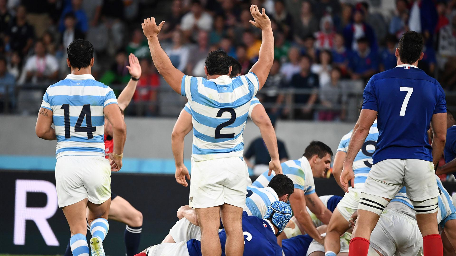 Argentina completó un gran segundo tiempo ante Francia, pero no pudo evitar la derrota en la apertura de la Copa del Mundo (Photo by FRANCK FIFE / AFP)