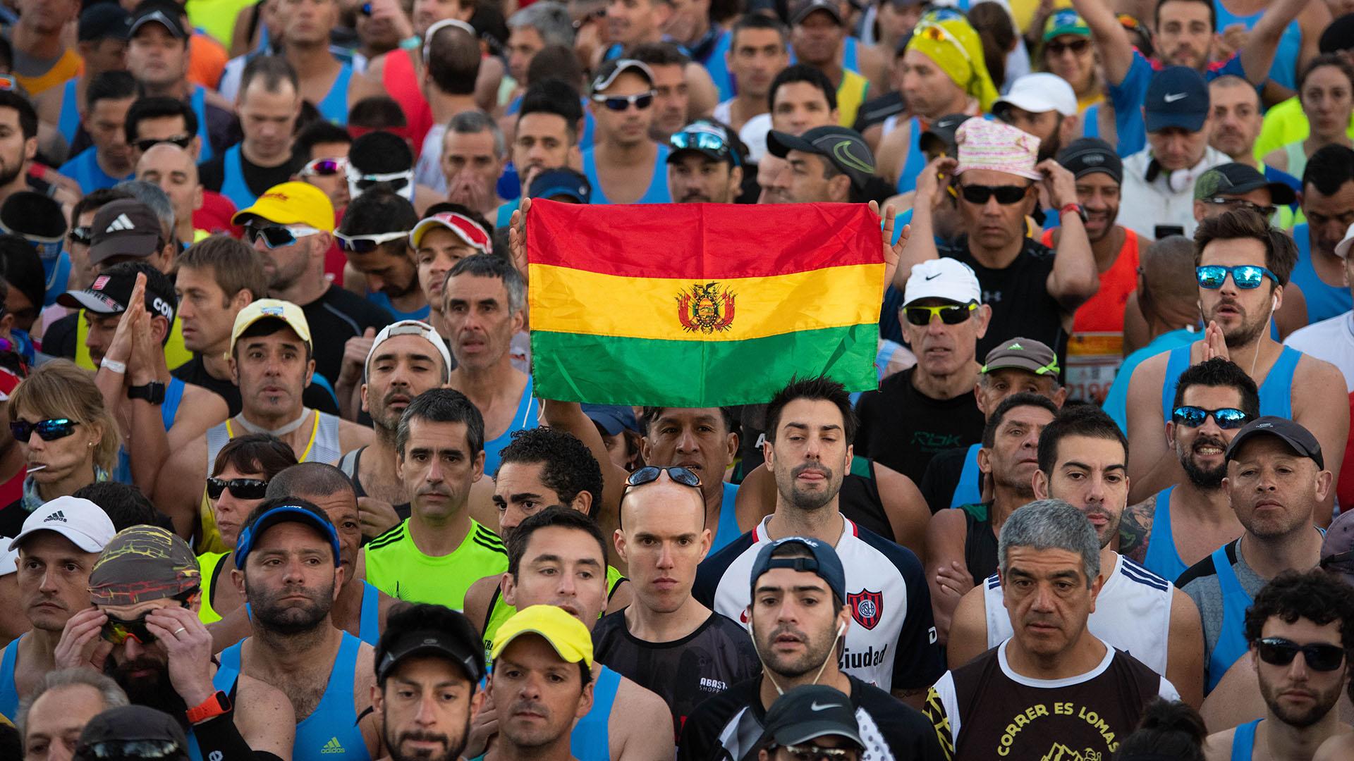 La maratín de Buenos Aires albergó a competidores de todos los rincones de Latinoamérica
