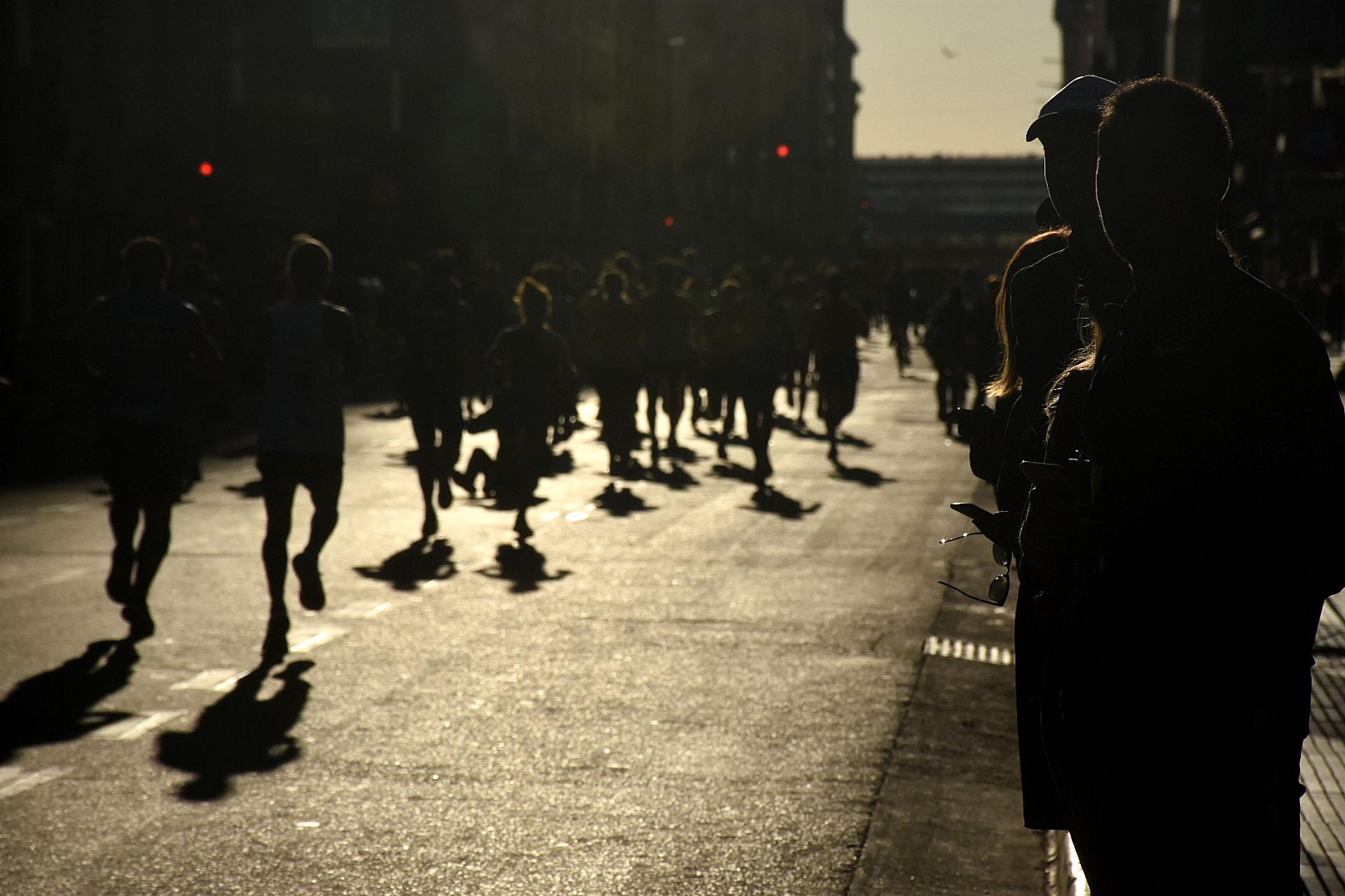 Las hermosas postales que dejó la maratón de Buenos Aires
