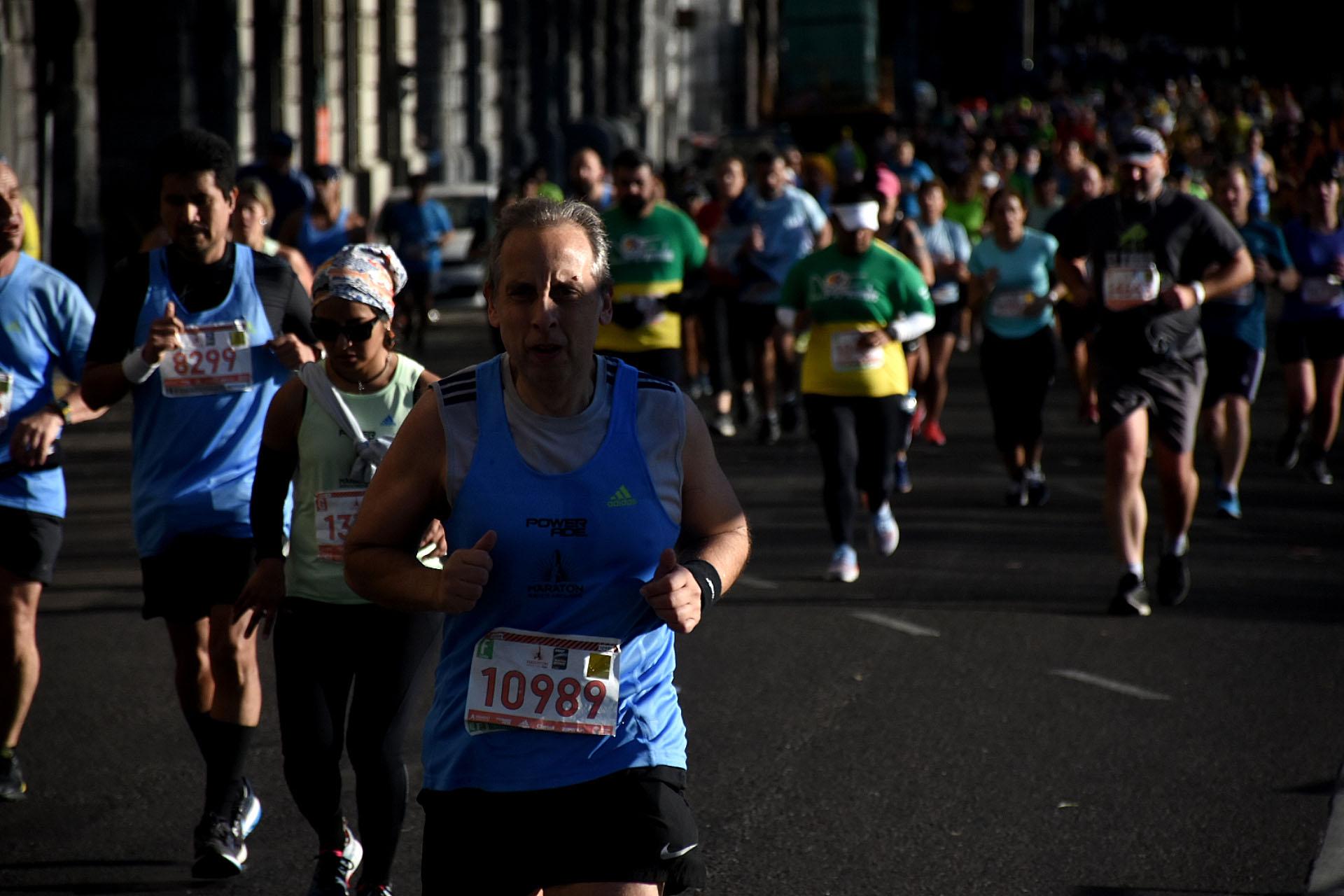 La maratón recibió a participantes de todas las edades