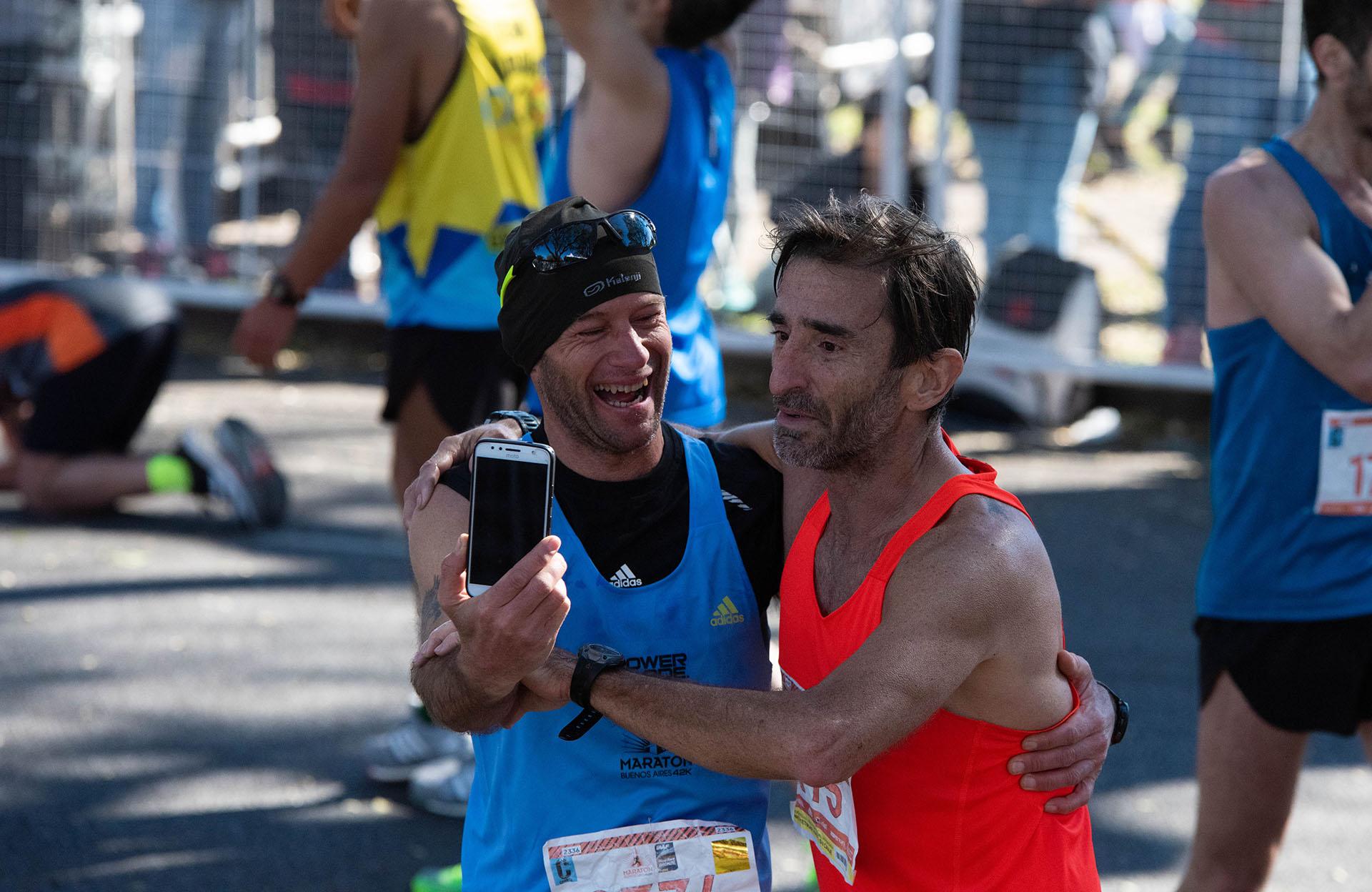Para la gran mayoría de los participantes, el haber completado la carrera fue el mayor de sus triunfos