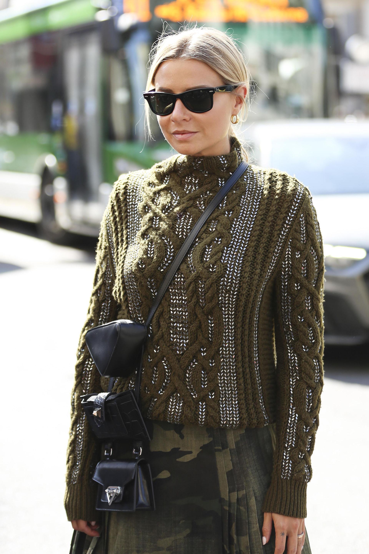 La fashionista Veronica Ferraro