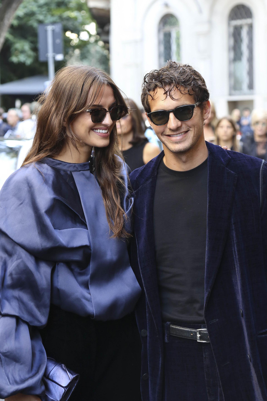 Gabrielle Caunesil y Riccardo Pozzoli