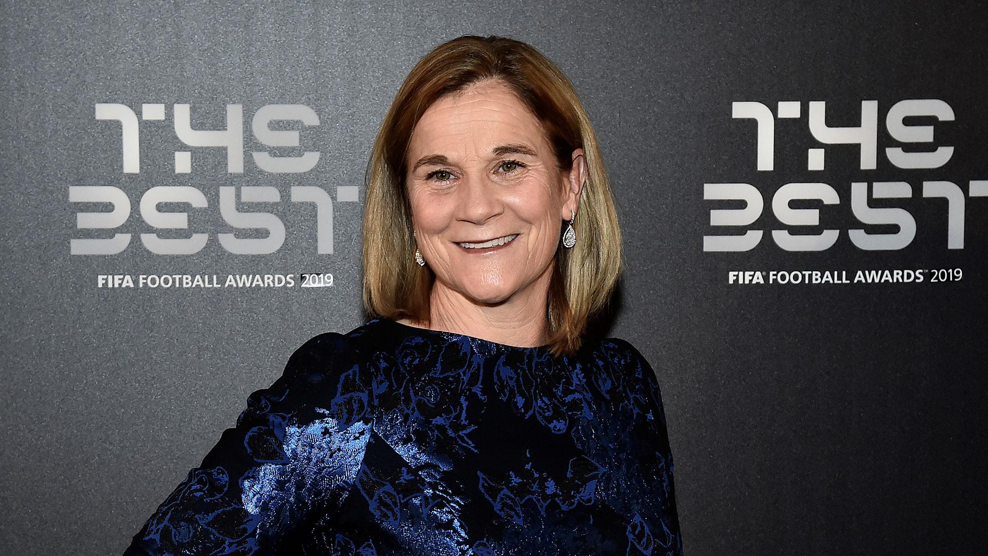 La entrenadora de la selección de Estados Unidos, campeona del Mundial de Francia, Jill Ellis