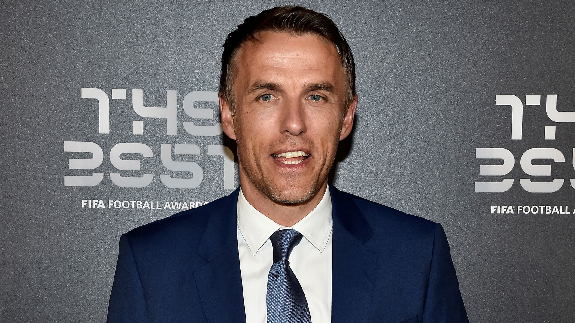 Phil Neville, entrenador de la selección de Inglaterra