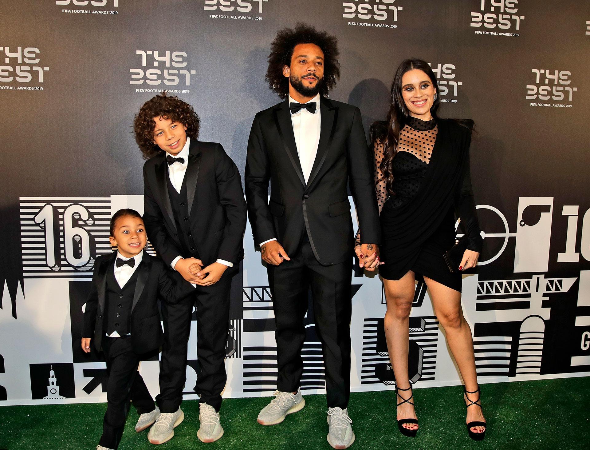 Marcelo con su familia