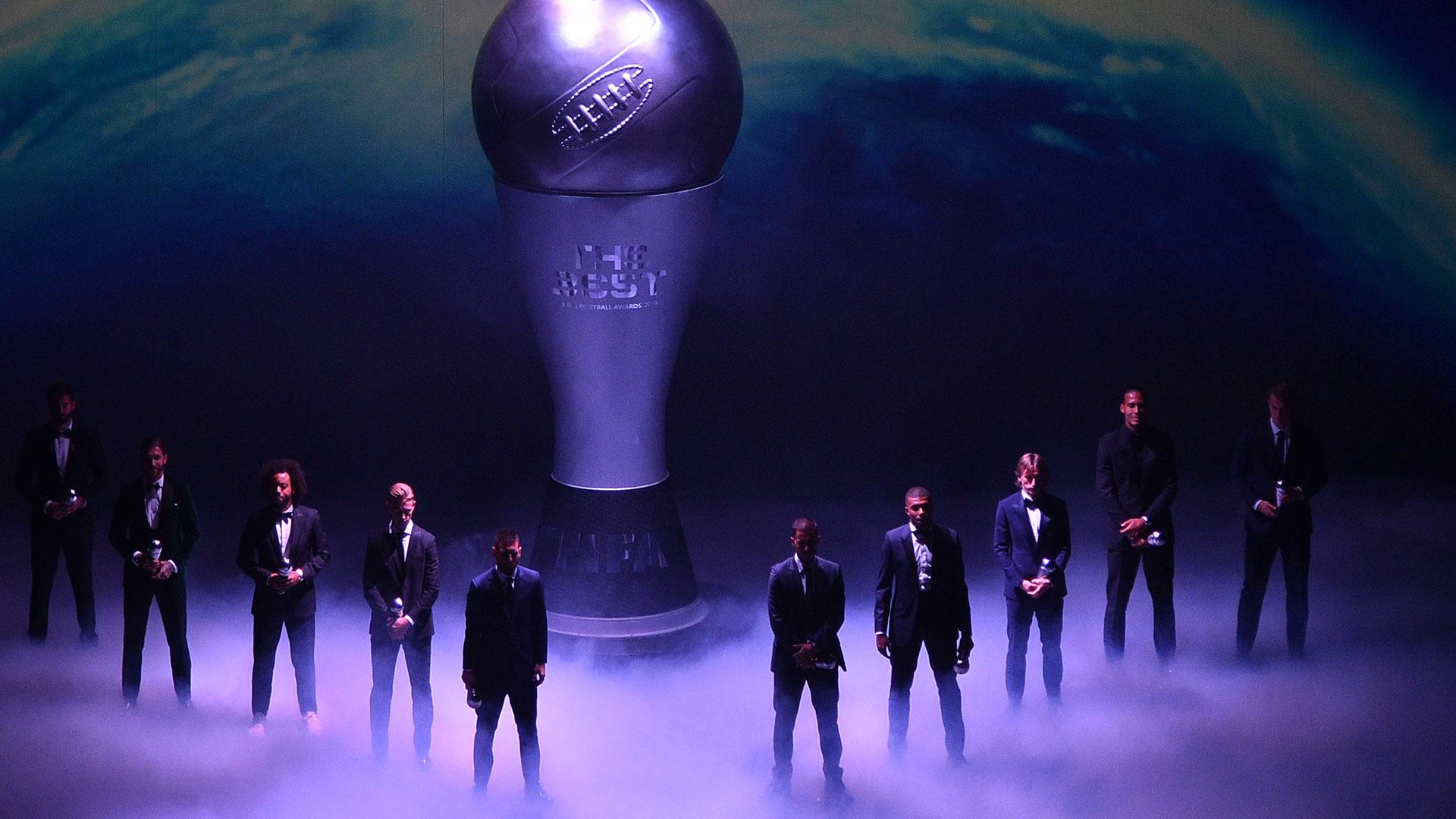 El equipo ideal de fútbol masculino