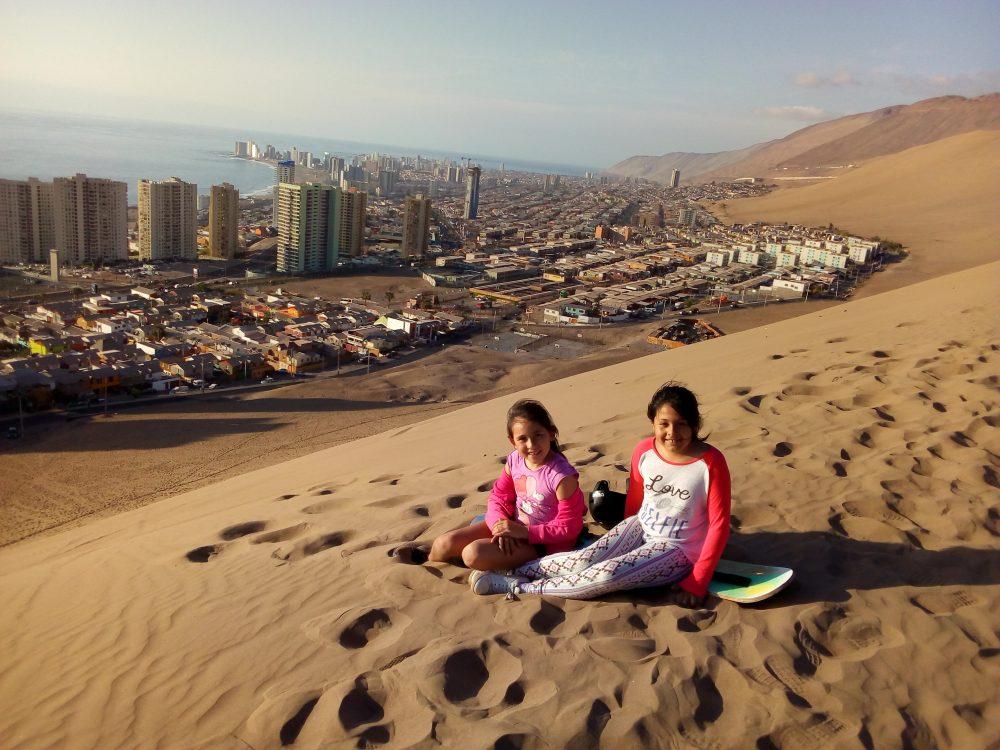 DUNAS. Las inmensas dunas es una de las hermosas imágenes de Iquique. La duna del cerro Dragón es uno de los lugares donde se practica  el bodyboard.