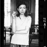 Joan Didion in a still from The Center Will Not Hold. [Netflix]