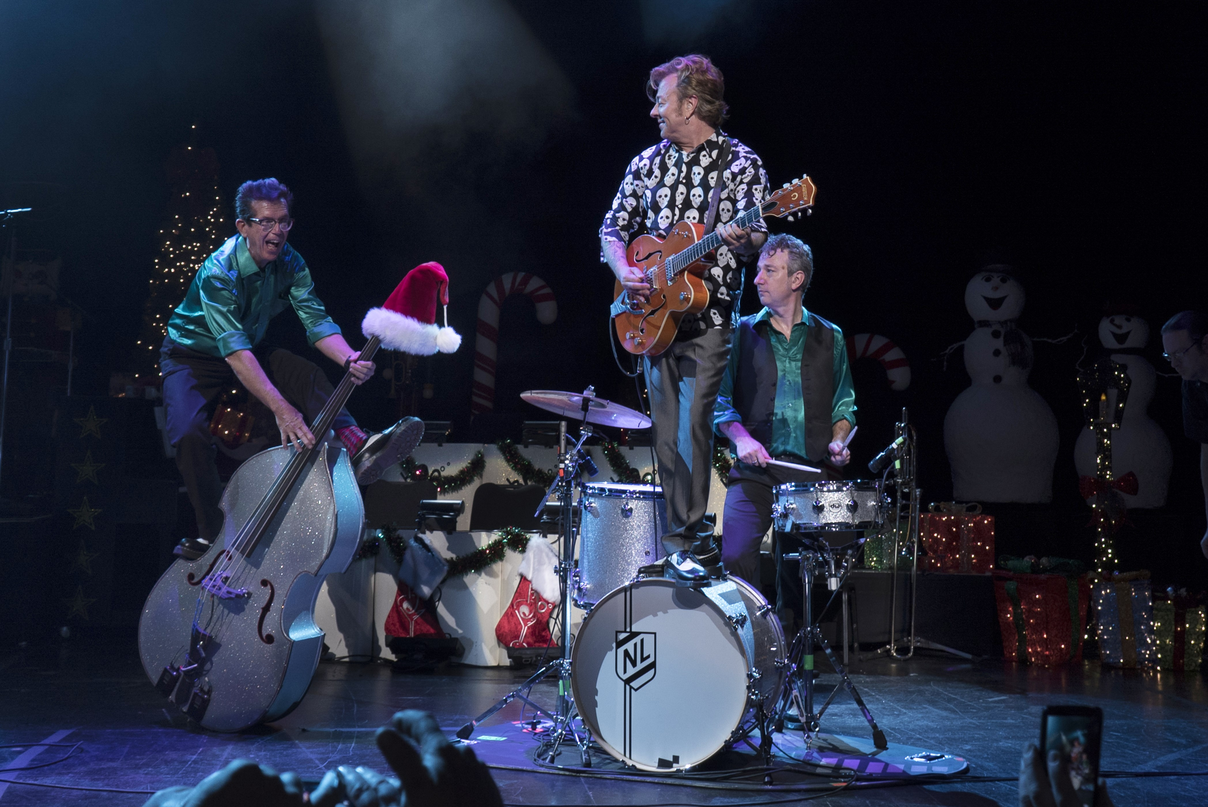 Brian Setzer Christmas.Review Brian Setzer Orchestra Swings Into Clearwater To