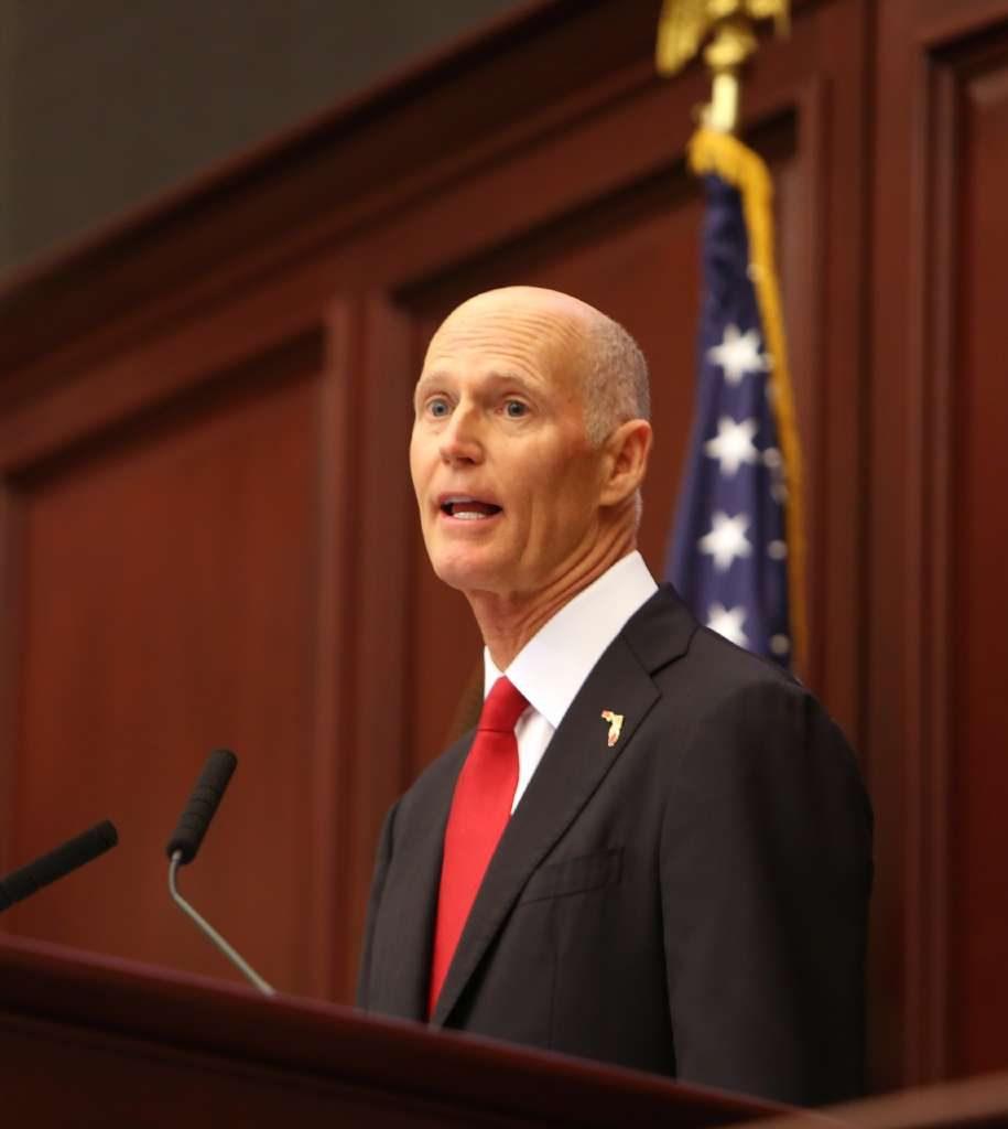 Gov. Rick Scott [SCOTT KEELER | Tampa Bay Times]