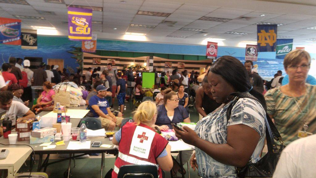 Pizzo Elementary School during Hurricane Irma [TIMES]