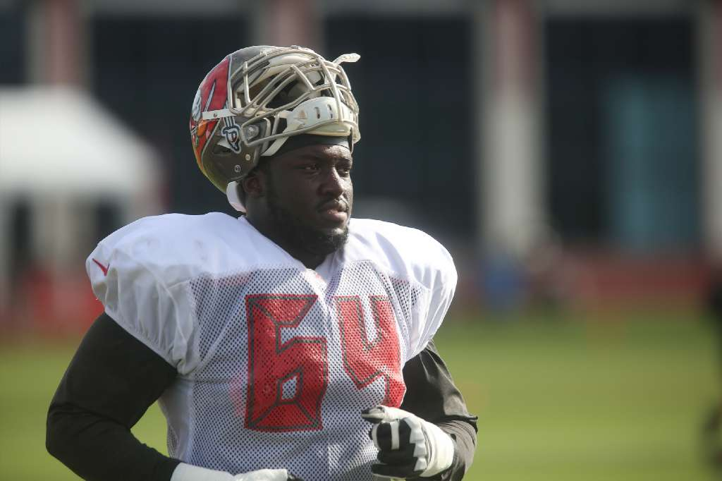promo code 49ea8 2f28a Kevin Pamphile on Bucs' o-line: 'We're not far from breaking ...