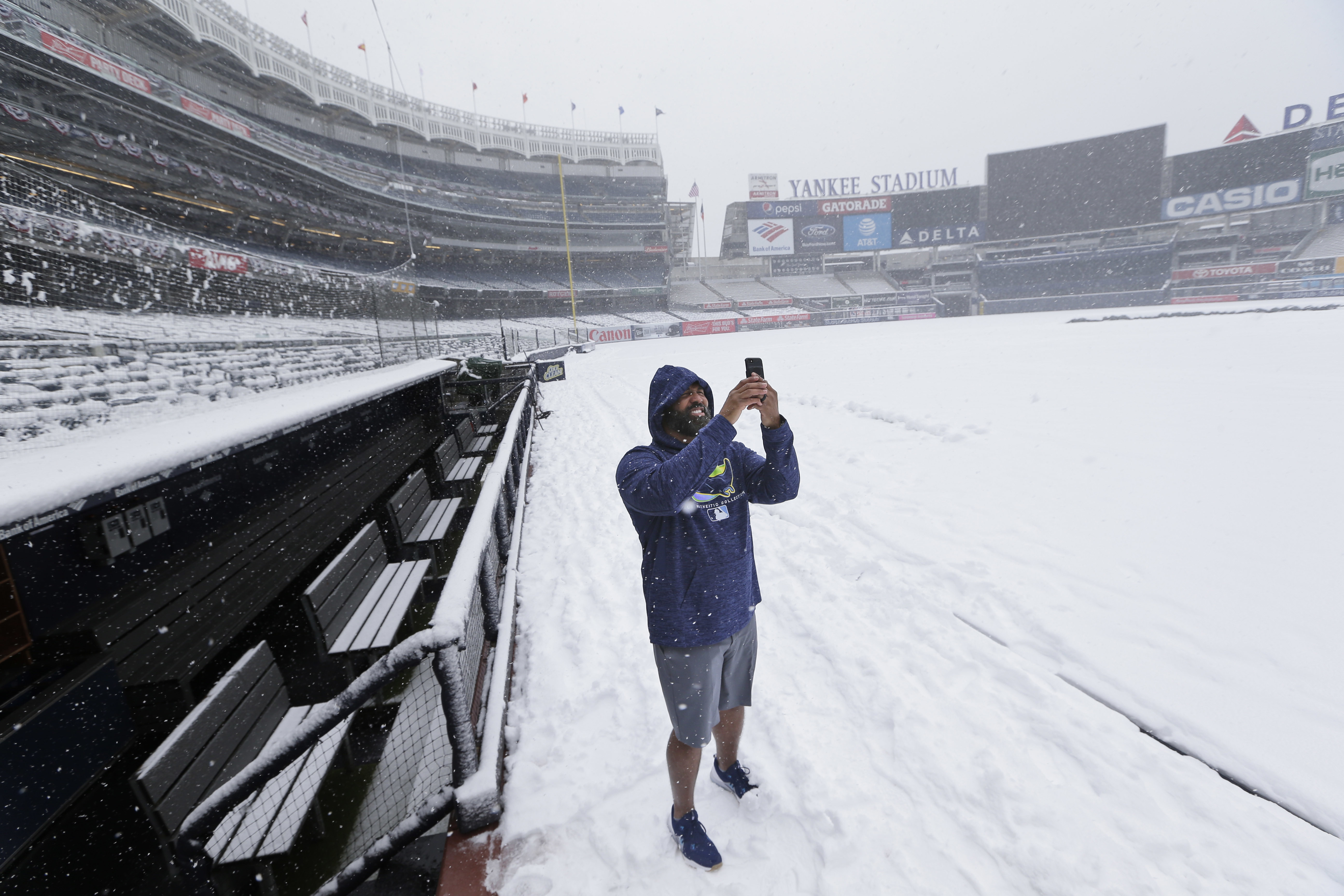 Why Monday's snowout was good for the Rays (Two words: bullpen day)