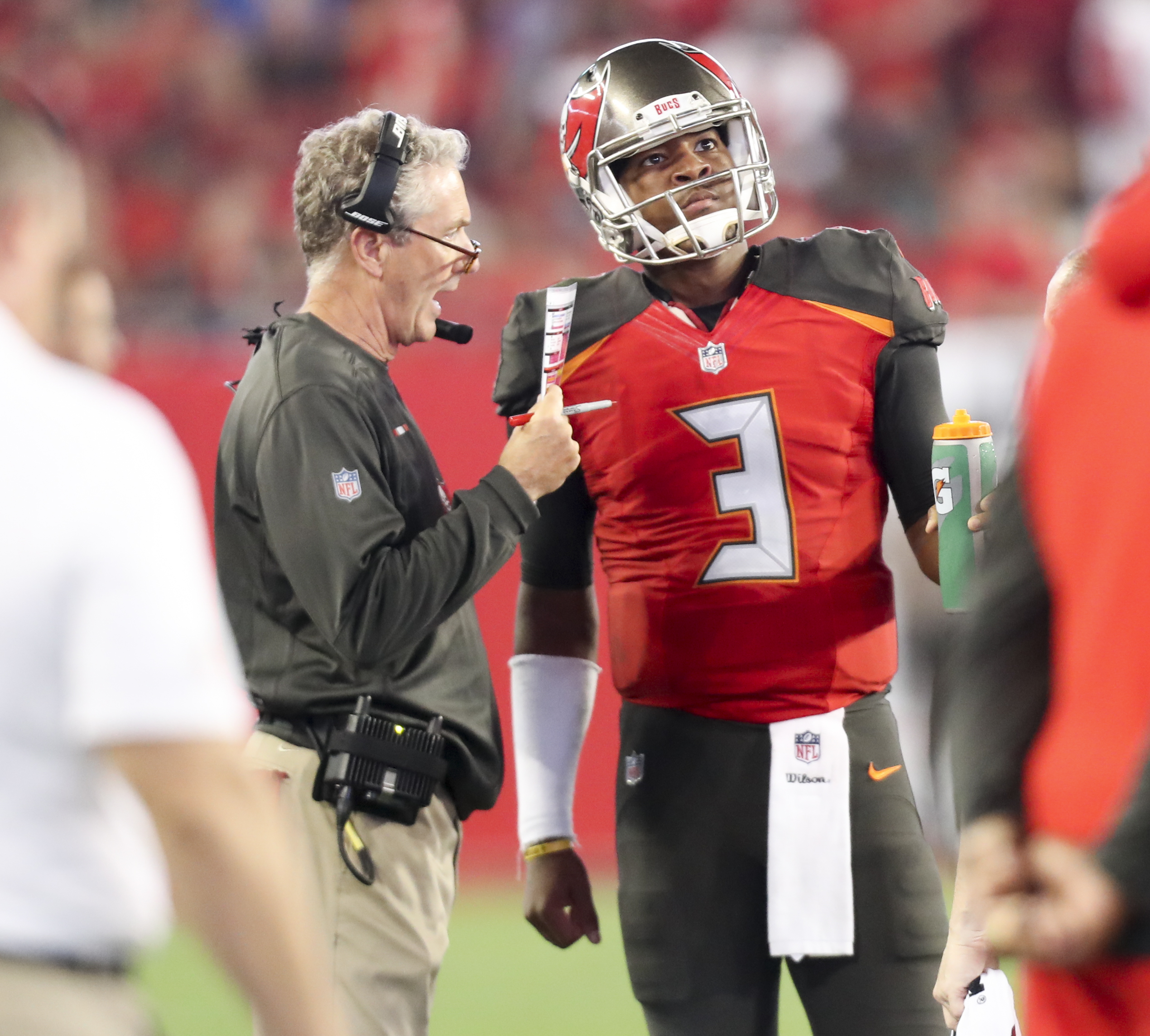 best website 23bf9 2151a Will this be Jameis Winston's last season in a Bucs uniform?