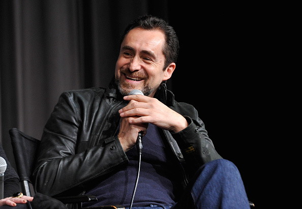 WEST HOLLYWOOD, CA - DECEMBER 05:  Actor Demian Bichir  (Photo by John Sciulli/Getty Images for The Weinstein Co [2015])