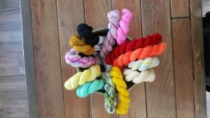 Celebrate National Local Yarn Shop Day at Stash, A Place for Yarn [Photo by Kristin Lohr]