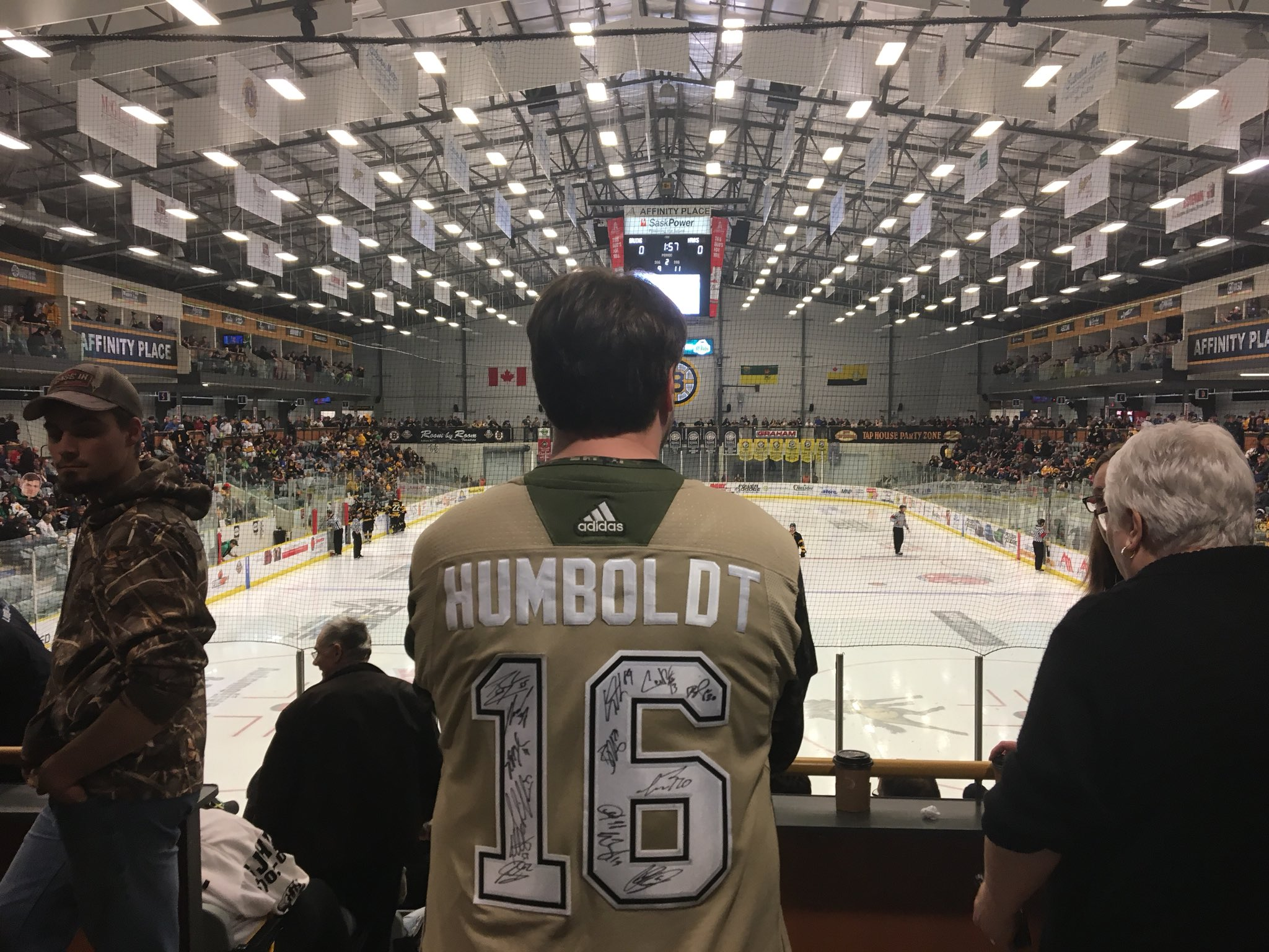 new arrival ec41d 32e4f ... Saskatchewan, where he also serves as in-game host for the Estevan  Bruins of the Saskatchewan Junior Hockey League, which Humboldt is a member  of.