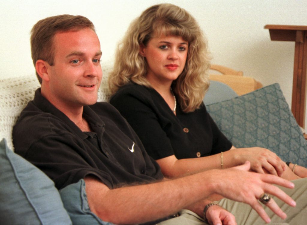 In this file photo, Michael Kelly and his wife Lisa talk about their involvement in a host of sporting events in the Tampa Bay area. [Times files (1999)]