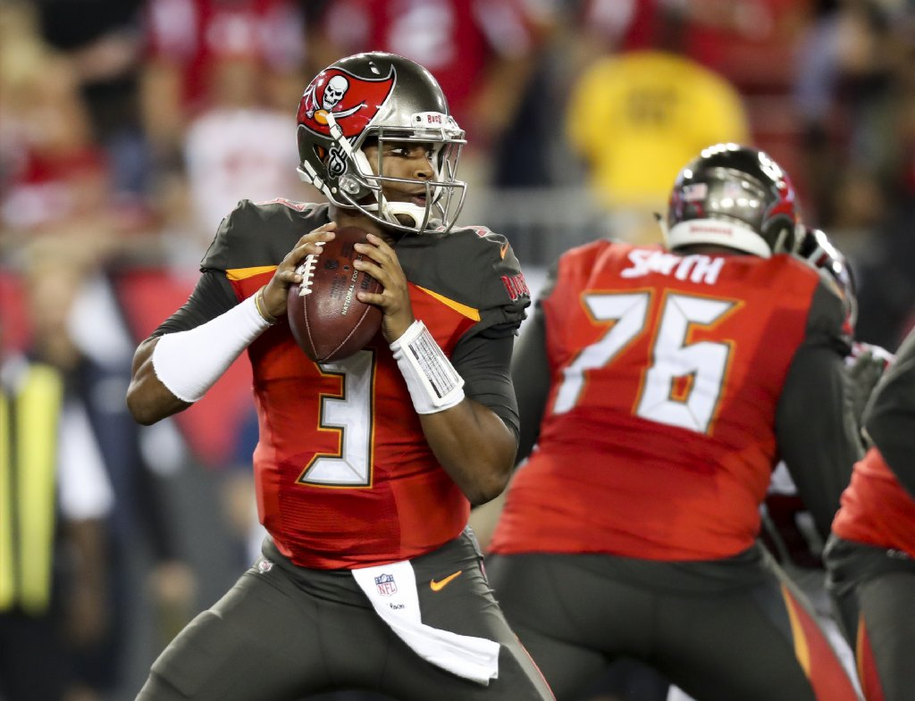 the latest 93ffe c7f01 Yes, Jameis Winston can set Bucs career passing records in 2018