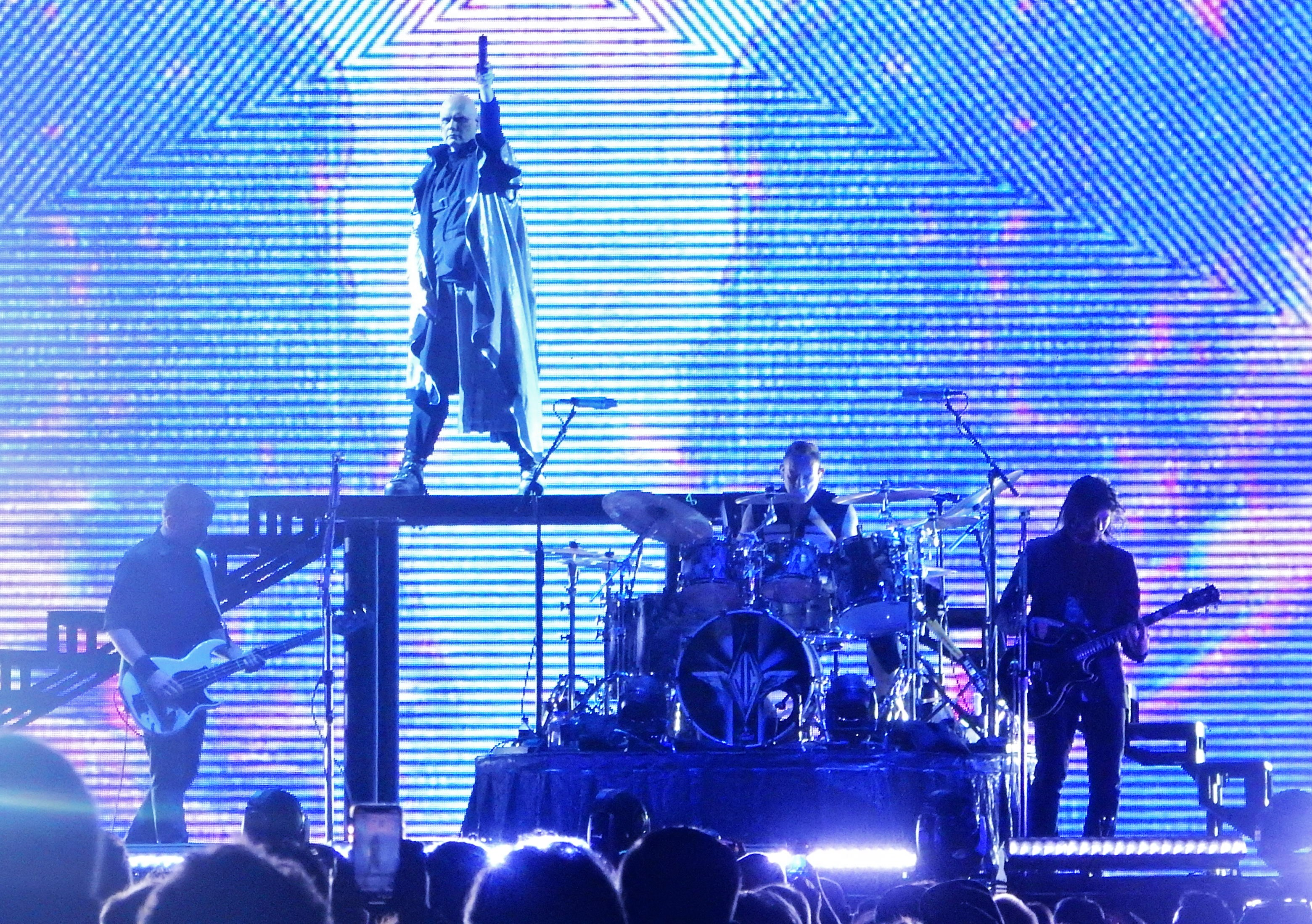Review: Smashing Pumpkins revel in melancholy and an