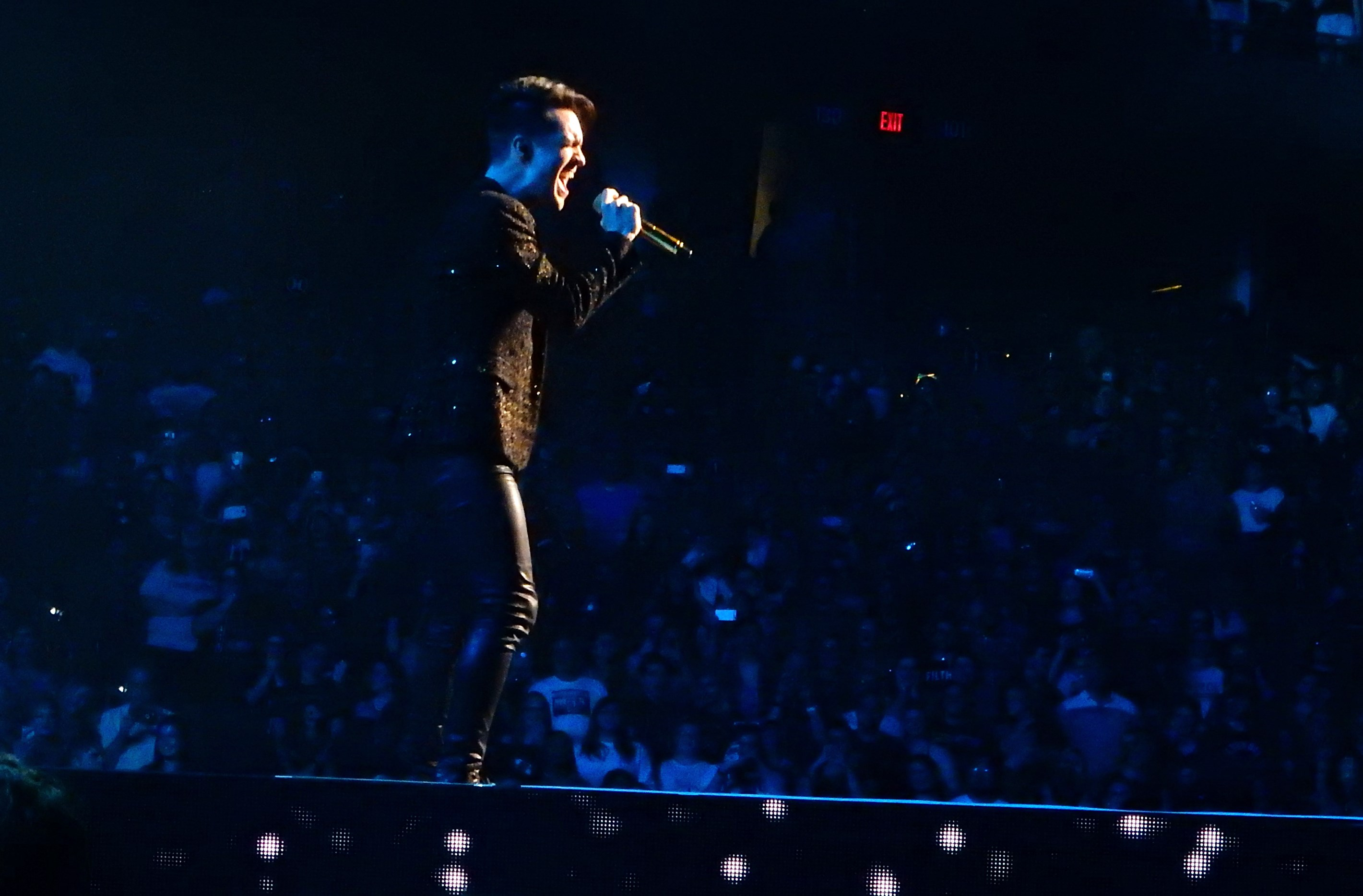 eceec072 Panic! at the Disco performed at Amalie Arena in Tampa on Aug. 1, 2018.  (Jay Cridlin | Times)