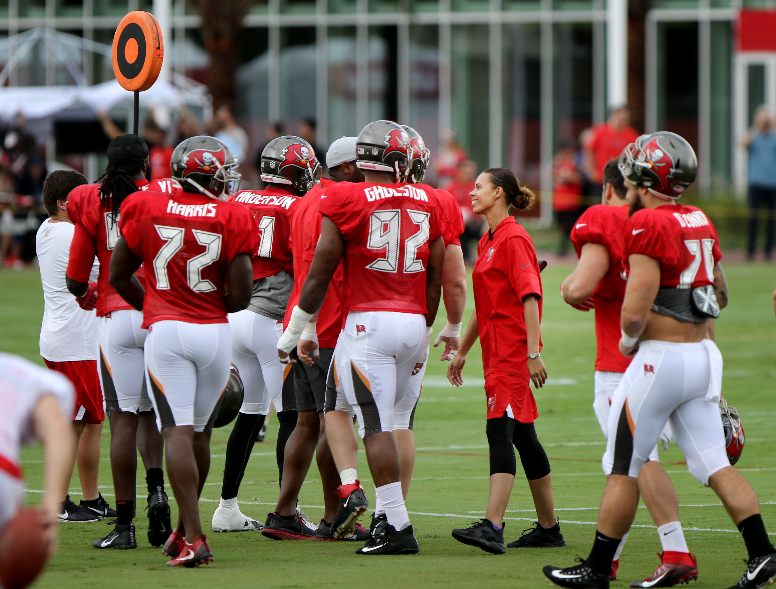 b1253abc Meet the Bucs intern/coach who says 'I am fully in a dream'