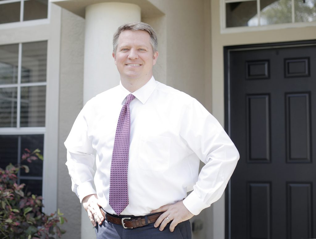 Home healthcare business owner Joe Wicker of Dover is running for state House District 59. [OCTAVIO JONES | Times]