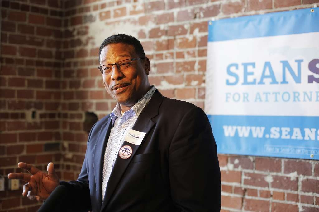 Florida Democratic candidate for Attorney General Sean Shaw talks to the press in Tampa on Tuesday. [Octavio Jones | Tampa Bay Times]