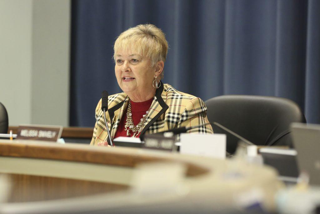 Hillsborough County School Board chairwoman Sally Harris [EVE EDELHEIT | Times (2015)]