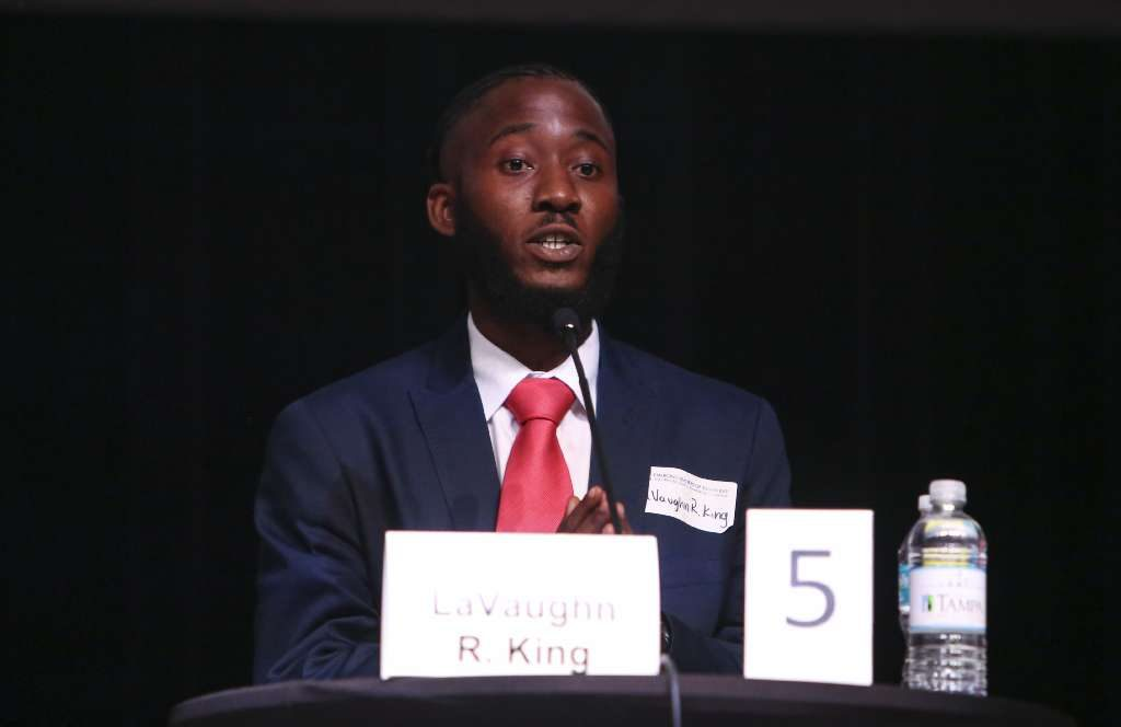 Tampa mayoral candidate LaVaughn King sees himself as the most dynamic candidate for Tampa mayor. [MARTHA ASENCIO RHINE | Times]
