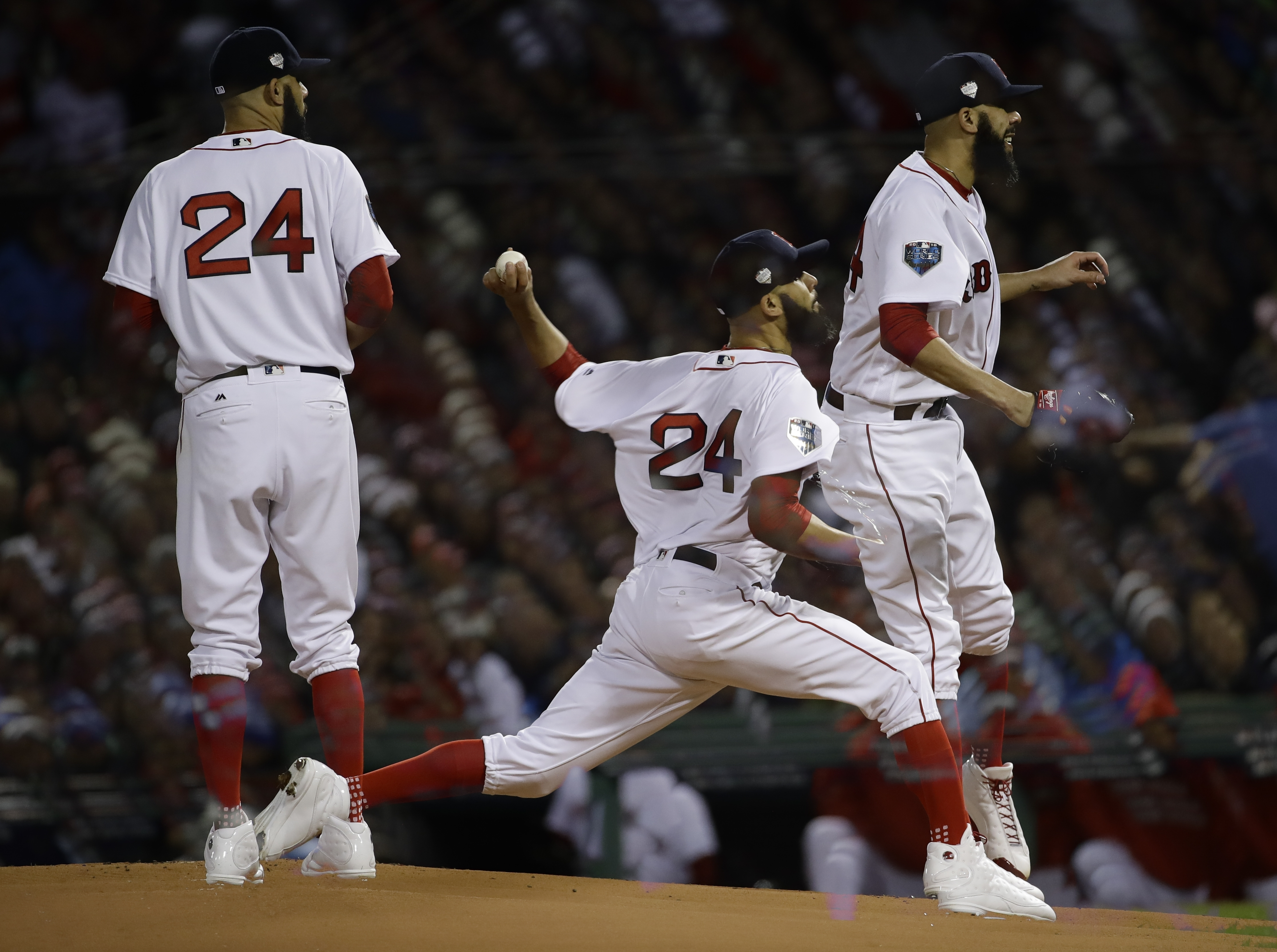 huge selection of ae2c2 7e627 Red Sox's David Price sheds 10-year wait of finally winning ...
