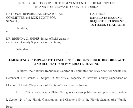 state of florida public court records