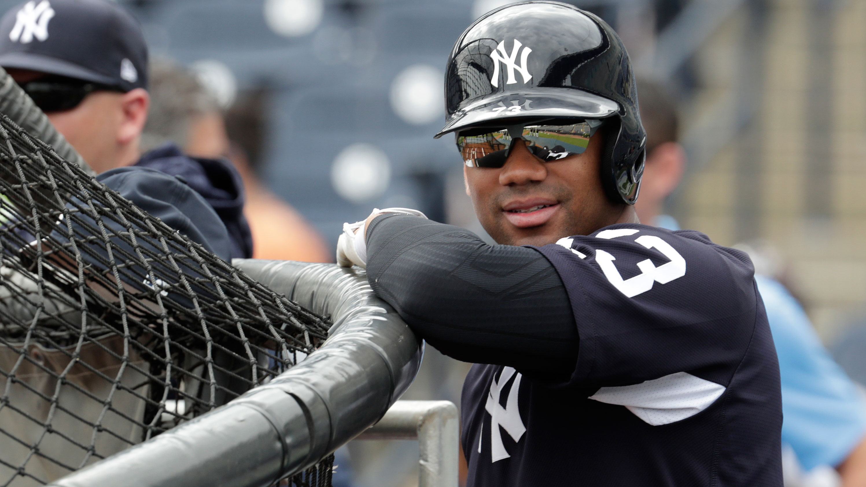 new concept b7a96 1eb49 Seahawks quarterback Russell Wilson will attend Yankees ...