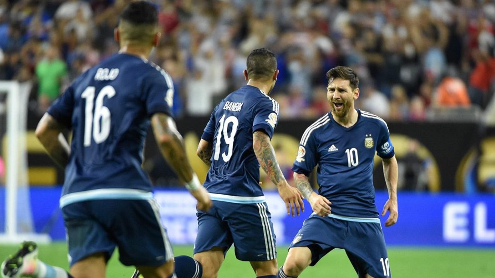 Las mejores imgenes de la clasificacin de Argentina a la Final