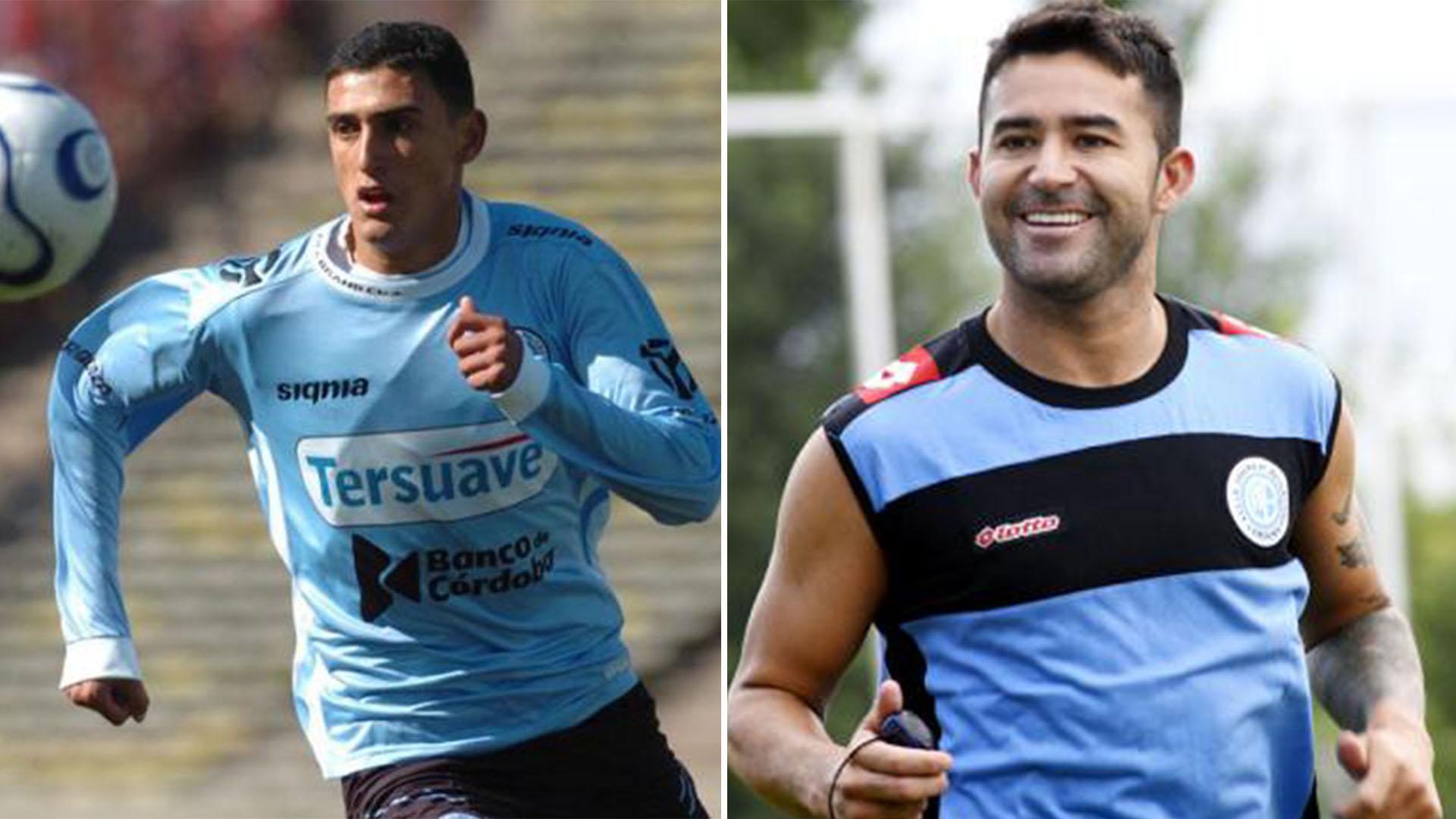 Matías Suárez y Claudio Bieler (Belgrano)