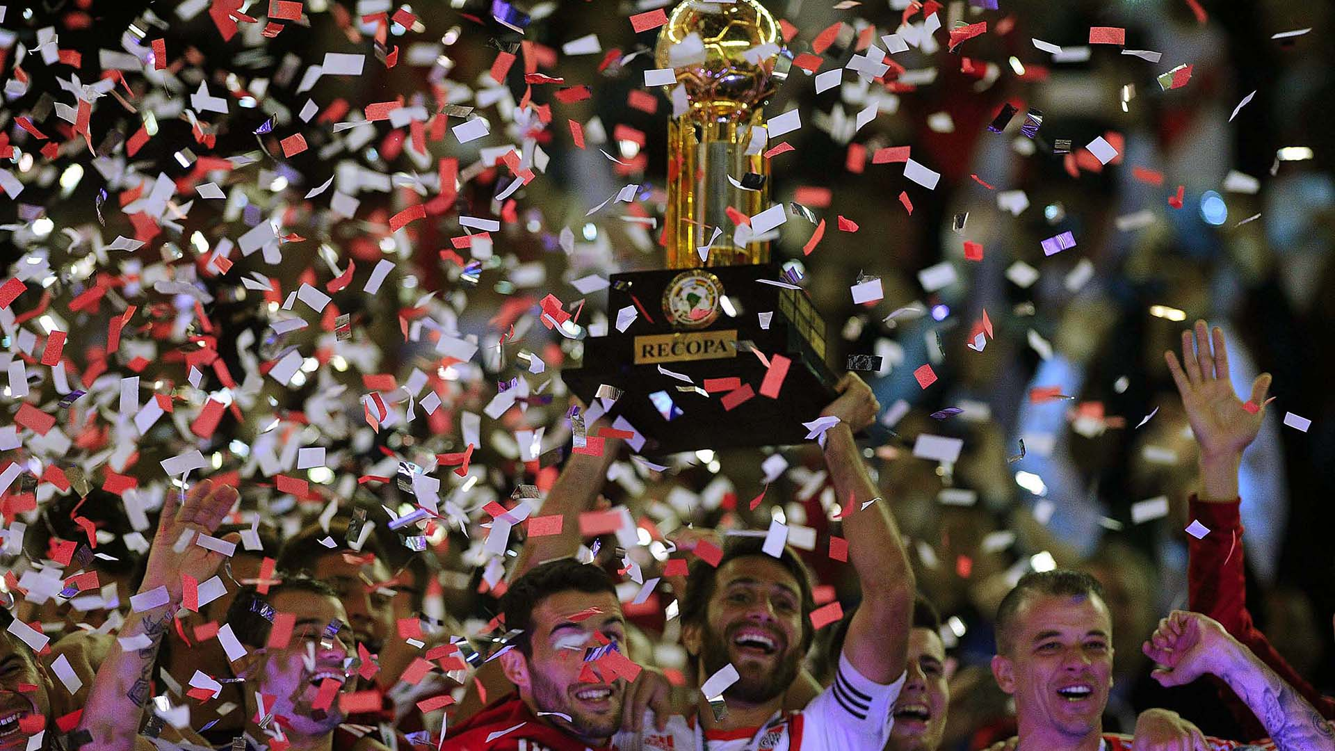 River alcanzó el décimo título internacional de su historia(Télam)