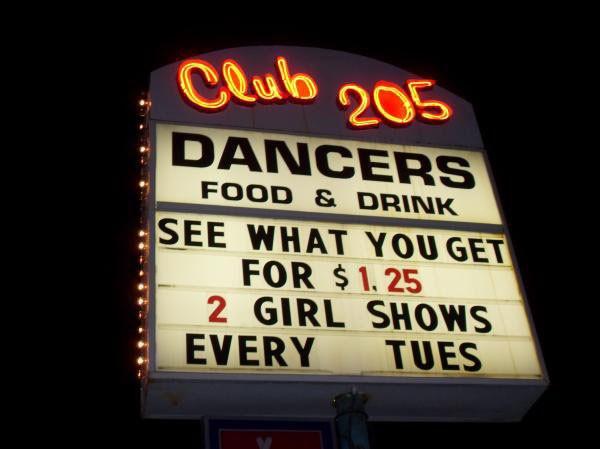 (Club 205 Facebook)