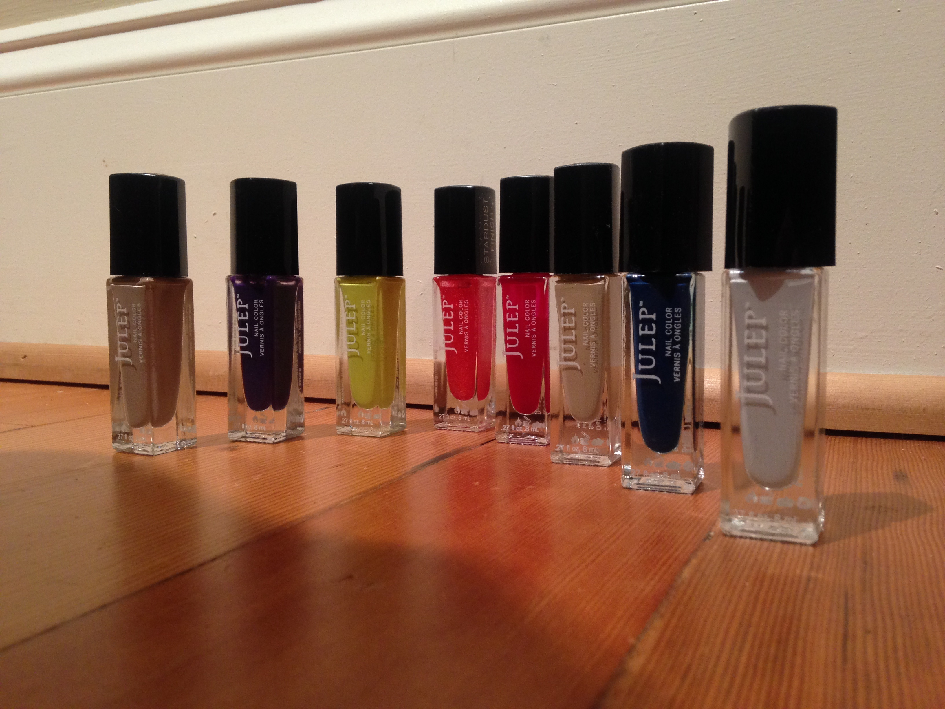 Our writer's personal collection of Julep nail polishes. (Lauren Terry)