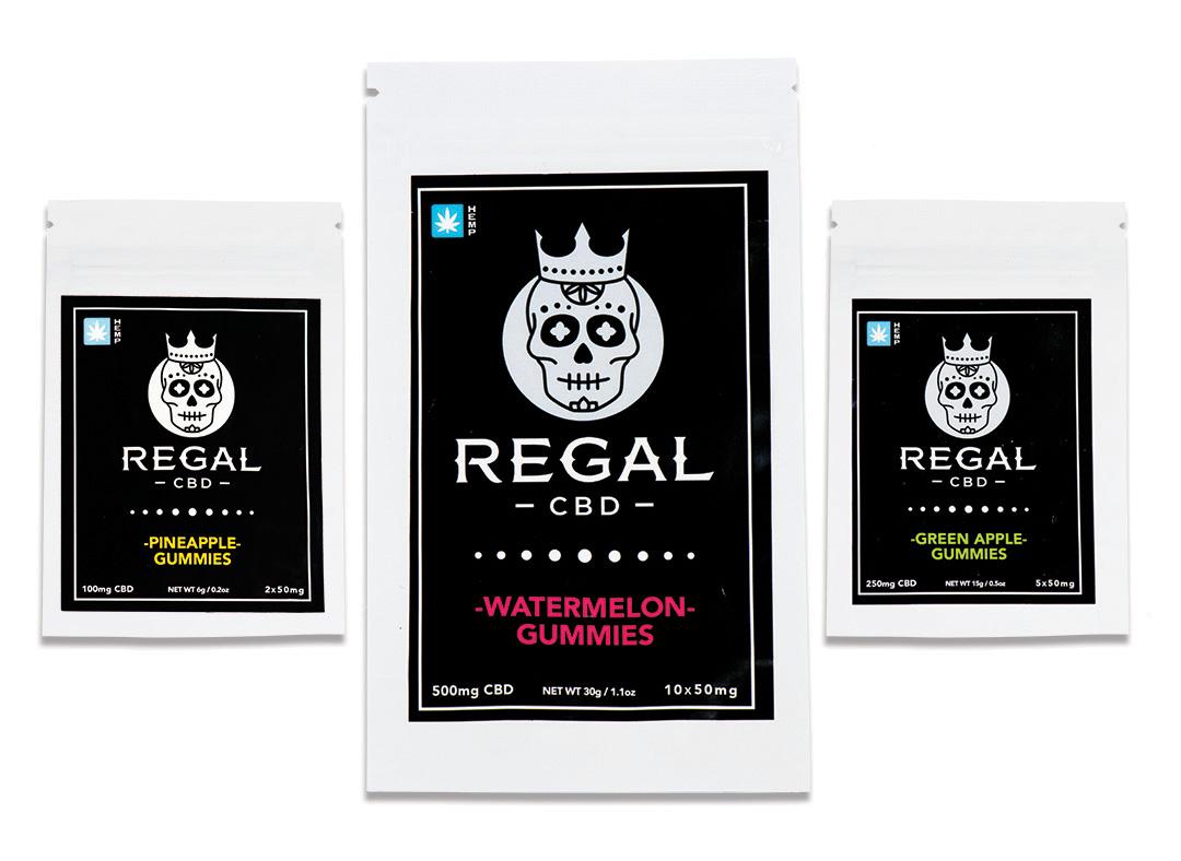 REGAL CBD cannabis item