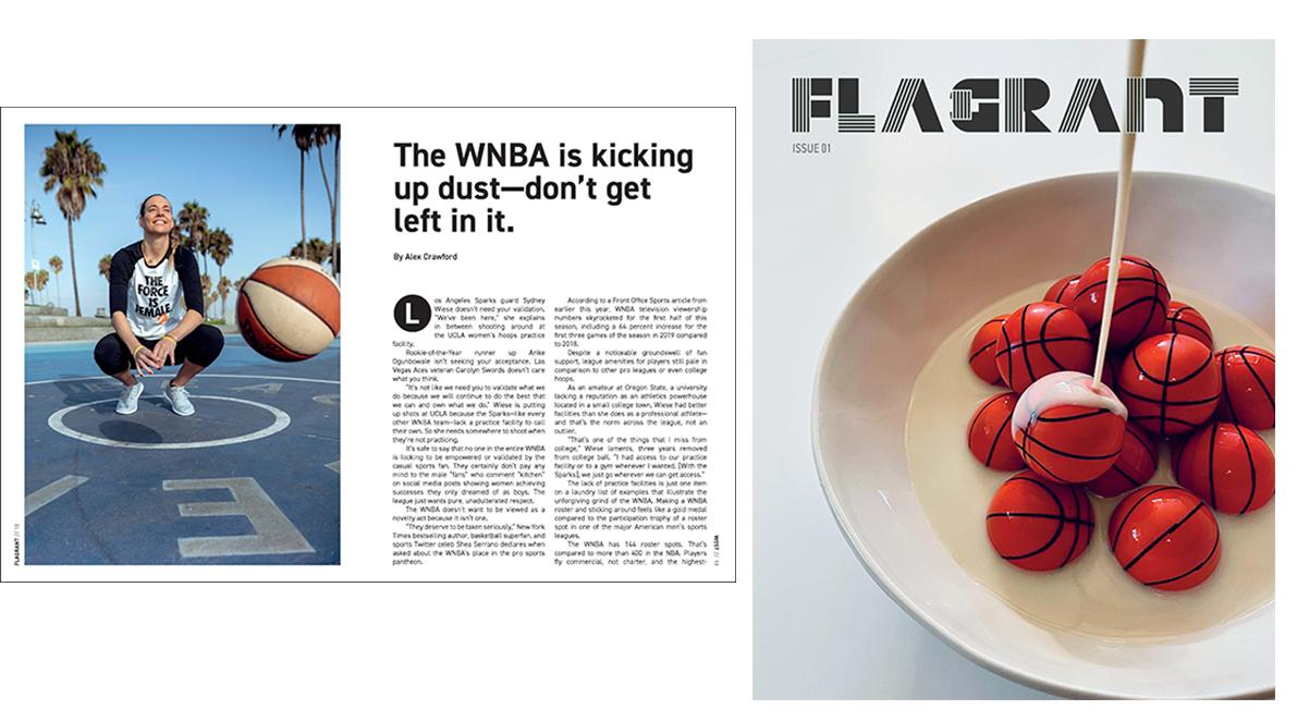 Best Projects Best Women-Run Basketball Magazine BOP2020
