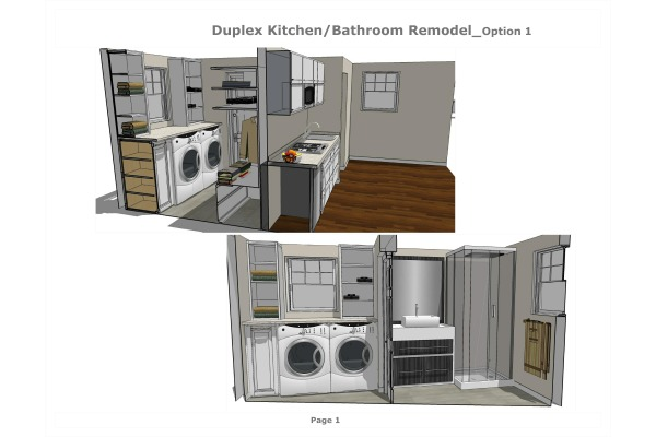 Image Duplex Kitchen/Bathroo...