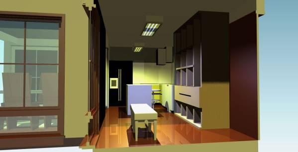 Image Awkward kitchen remode... (2)