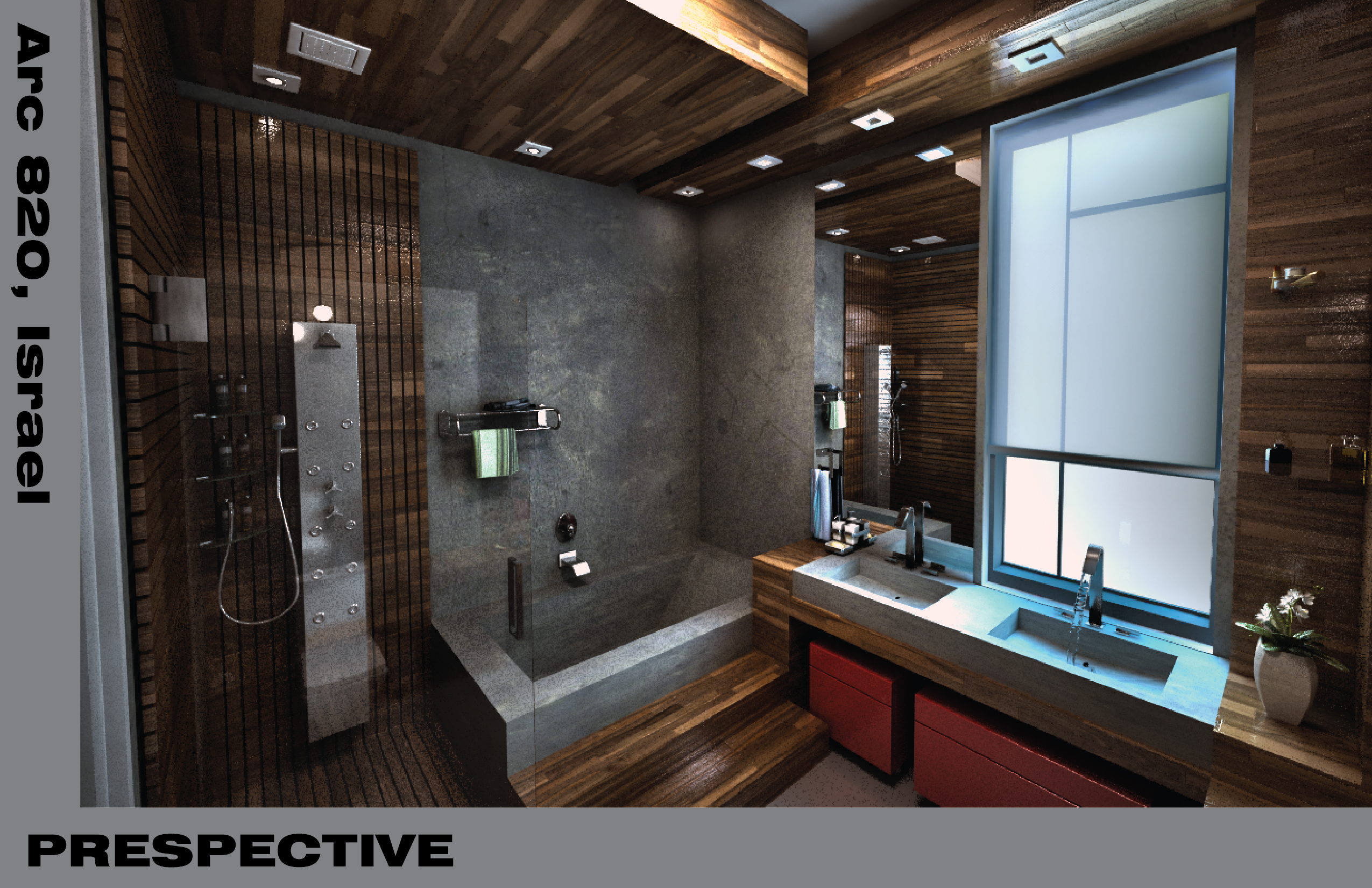 Bathroom design project designed by roi hason master for Bathroom remodeling fort lauderdale fl
