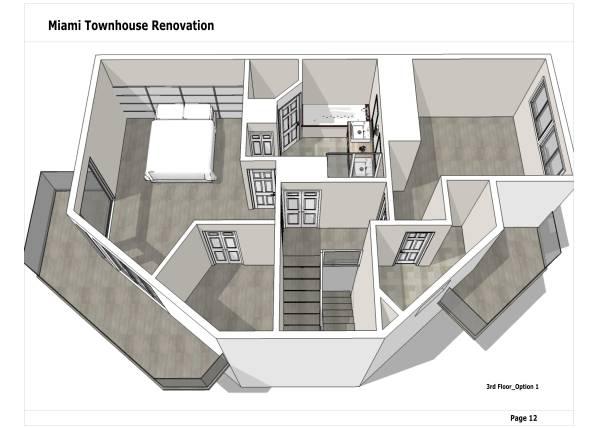 Image Miami Townhouse Renova... (2)