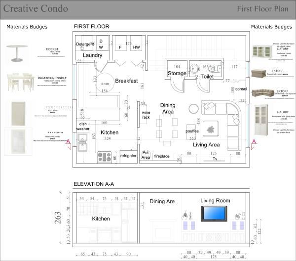 Plan drawing-Version 1