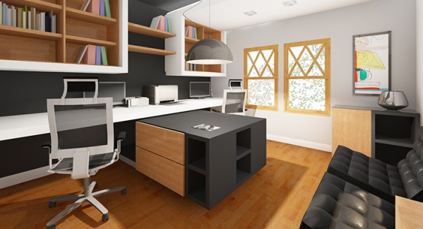 Image Modern Home Office