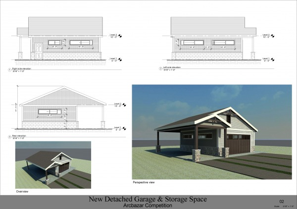 Image New Detached Garage & ... (2)